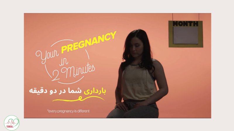 بارداری شما در دو دقیقه
